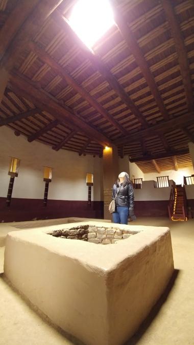 Inside the Great Kiva