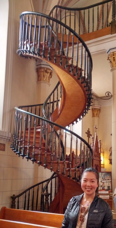 """Miraculous"" staircase"