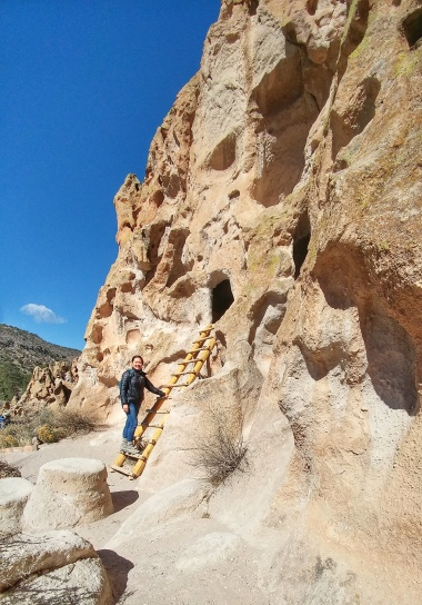 More cavates, or carved rooms, at Bandelier National Monument