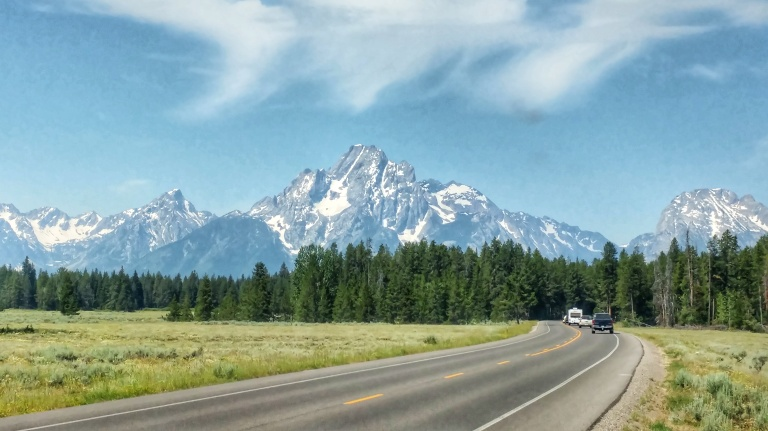 Grand Teton views